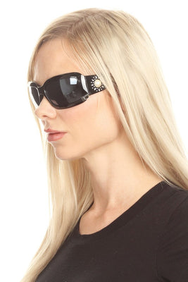 Women's Large Rectangular Sunglasses