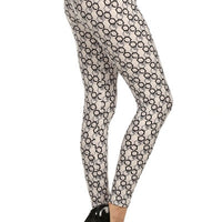 Full Length Paisley Print Leggings
