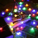 10 M Cherry Christmas Light, 100 LED