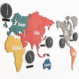 World Clock, Eco Colour-Mix (Large)
