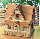 3D_Wooden assemble set_Anne Shirley House