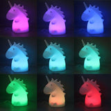 Junior Unicorn Lamp