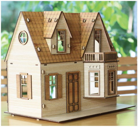 3D_Wooden assemble set_Shirley Temple House
