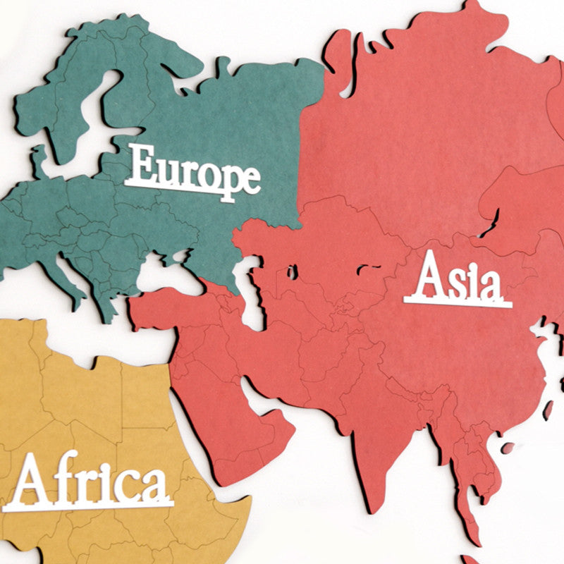 World Map, Eco Colour-Mix (Large/Map only)
