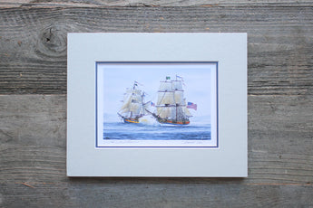 Lady Washington & Hawaiian Chieftain - Battle Sail