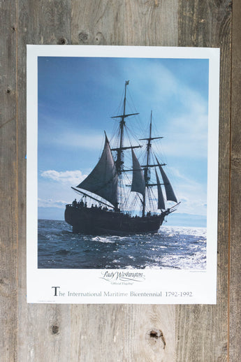 Lady Washington Bicentennial Poster