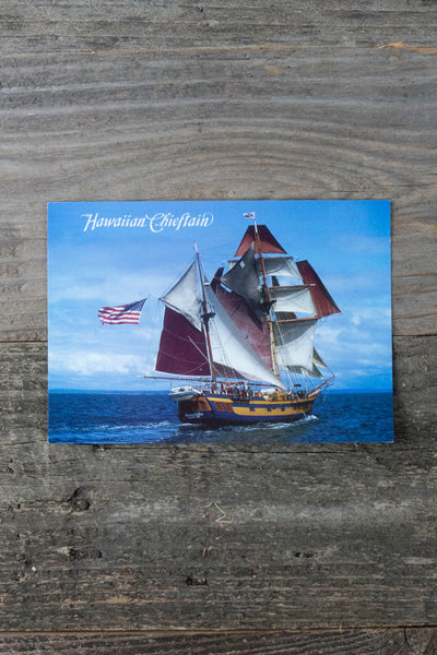 Hawaiian Chieftain Postcard