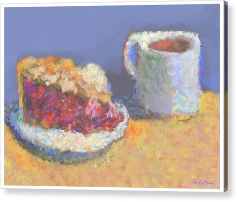 It's Cherry Pie Day - Pastel Print