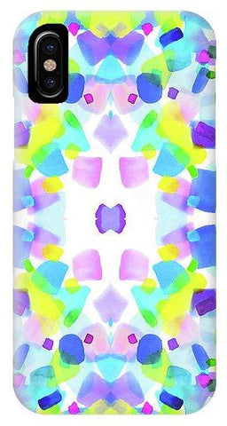 Kaleidoscope Pink Square - Phone Case