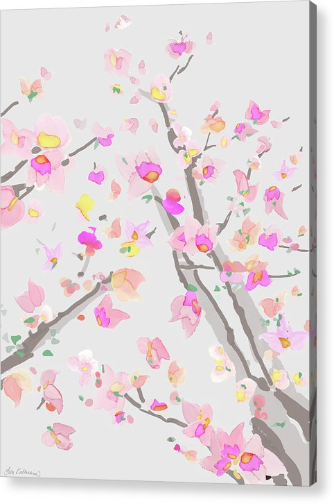 Muted Blossoms - Acrylic Print