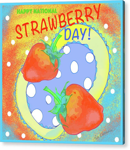 Retro Strawberry Day -  Print