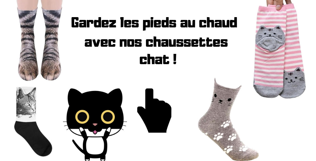 offre chaussettes chat