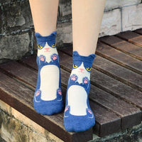 chaussette chat kawaii