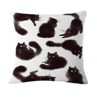 coussin chat original
