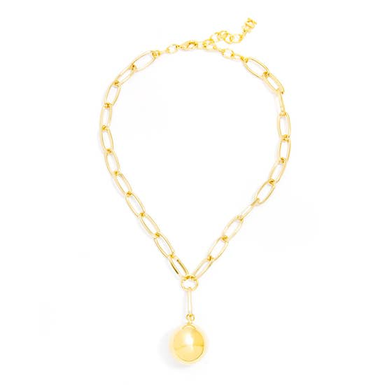 Large Ball Collar Necklace