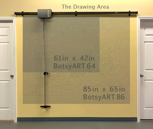BotsyART - The Complete Tool Set to Start Drawing on the Wall