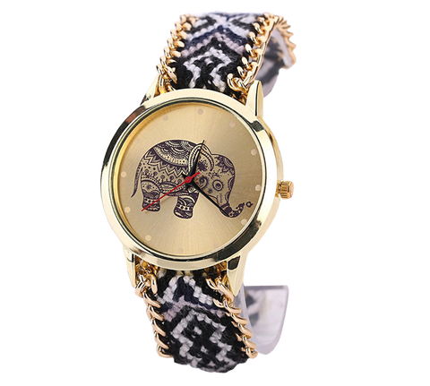 Elephant Fiber Watch