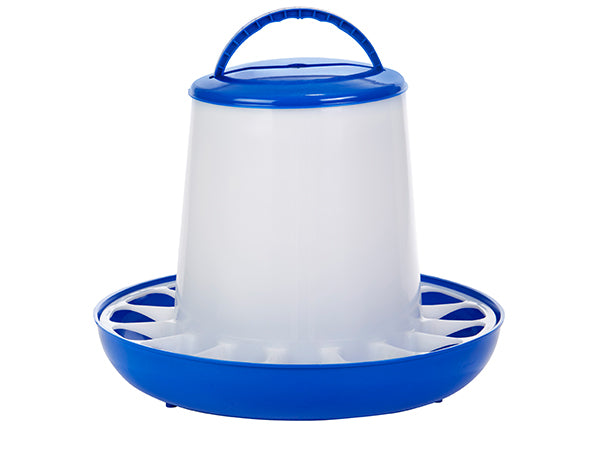 Double-Tuf 15 Lb Plastic Poultry Feeder