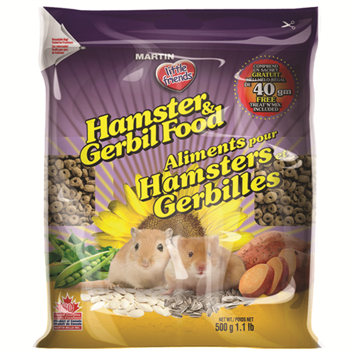 Martin Little Friends Hamster & Gerbil Food 500g