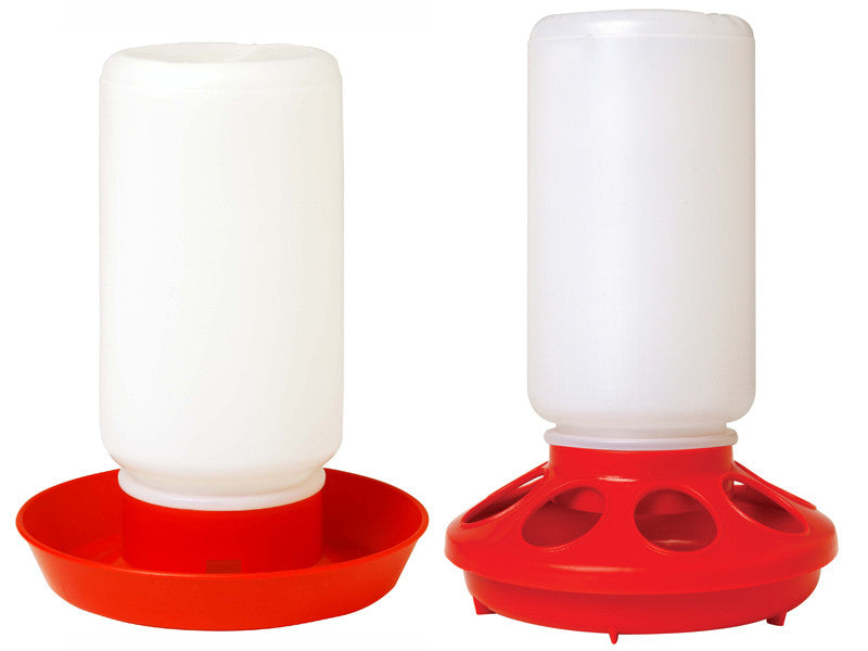 Chick Feeder and Waterer Combo