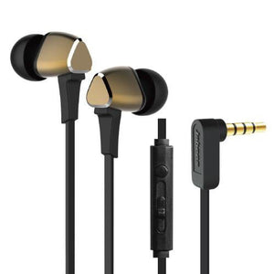 Jabees M4 In-Ear Headphone with Remote & Mic - Gold