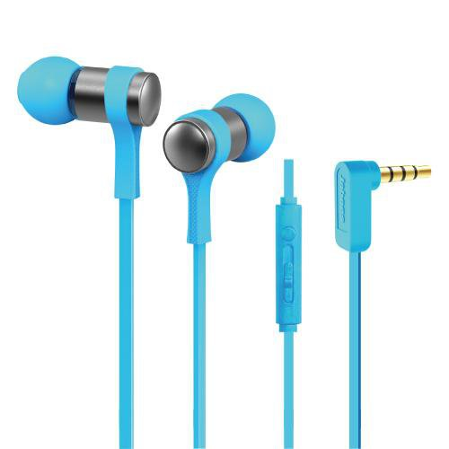 Stereo Corded Earphone - Blue  WE202M