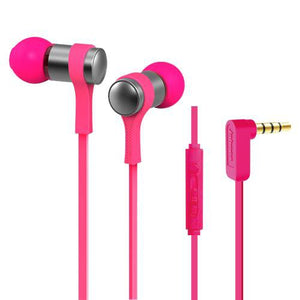 Stereo Corded Earphone - Pink  WE202M
