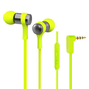 Stereo Corded Earphone - Green  WE202M
