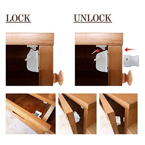 Baby Safety Lock for Cabinets & Drawers
