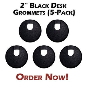 "2"" Big Mouth Desk Grommets"