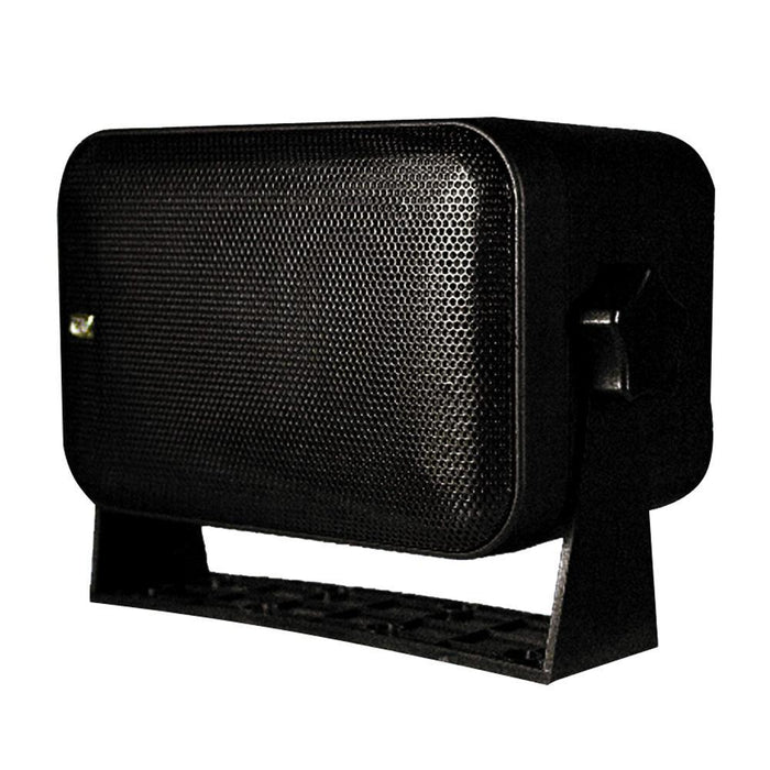 Poly-Planar Box Speakers - (Pair) Black