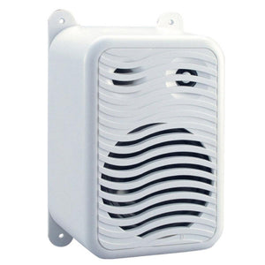 Poly-Planar Gunwale Mount Speakers - (Pair) White