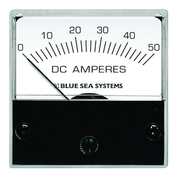 "Blue Sea 8041 DC Analog Micro Ammeter - 2"" Face, 0-50 Amperes DC"
