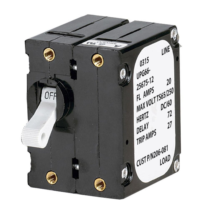 Paneltronics 'A' Frame Magnetic Circuit Breaker - 40 Amps - Double Pole
