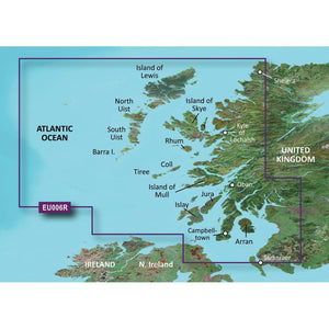 Garmin BlueChart® g2 Vision® HD - VEU006R - Scotland, West Coast - microSD™-SD™