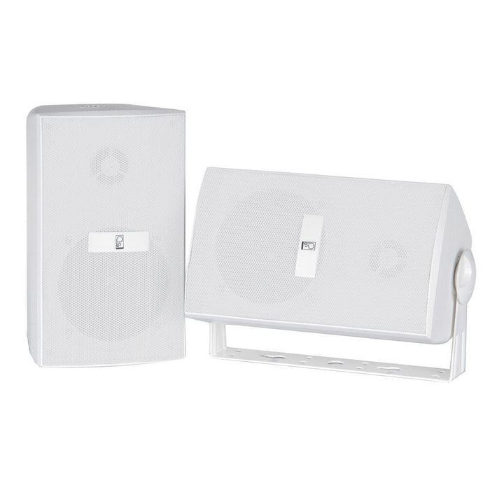 Poly-Planar Compnent Box Speakers - (Pair) White