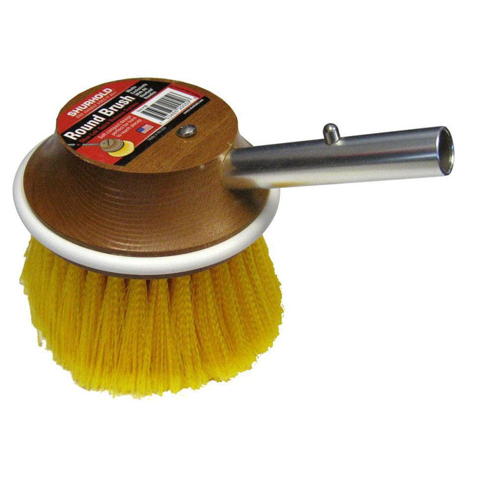 "Shurhold 5"" Round Polystyrene Soft Brush f- Windows, Hulls, & Wheels"
