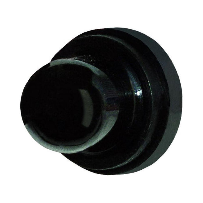 "Paneltronics Circuit Breaker Boot - 5-8"" Round Nut - Black"