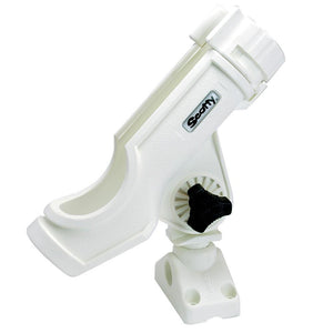 Scotty Powerlock Rod Holder White w-241 Side-Deck Mount