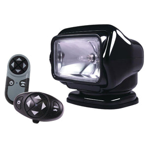 Golight Stryker Searchlight 12V w-Wireless Dash & Handheld Remote - Black