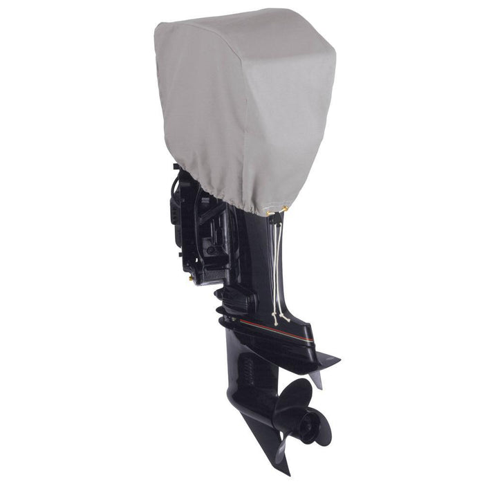 Dallas Manufacturing Co. Motor Hood Polyester Cover 1 - 2.5 hp - 10 hp, 4 Strokes Or 2 Strokes Up To 25 hp