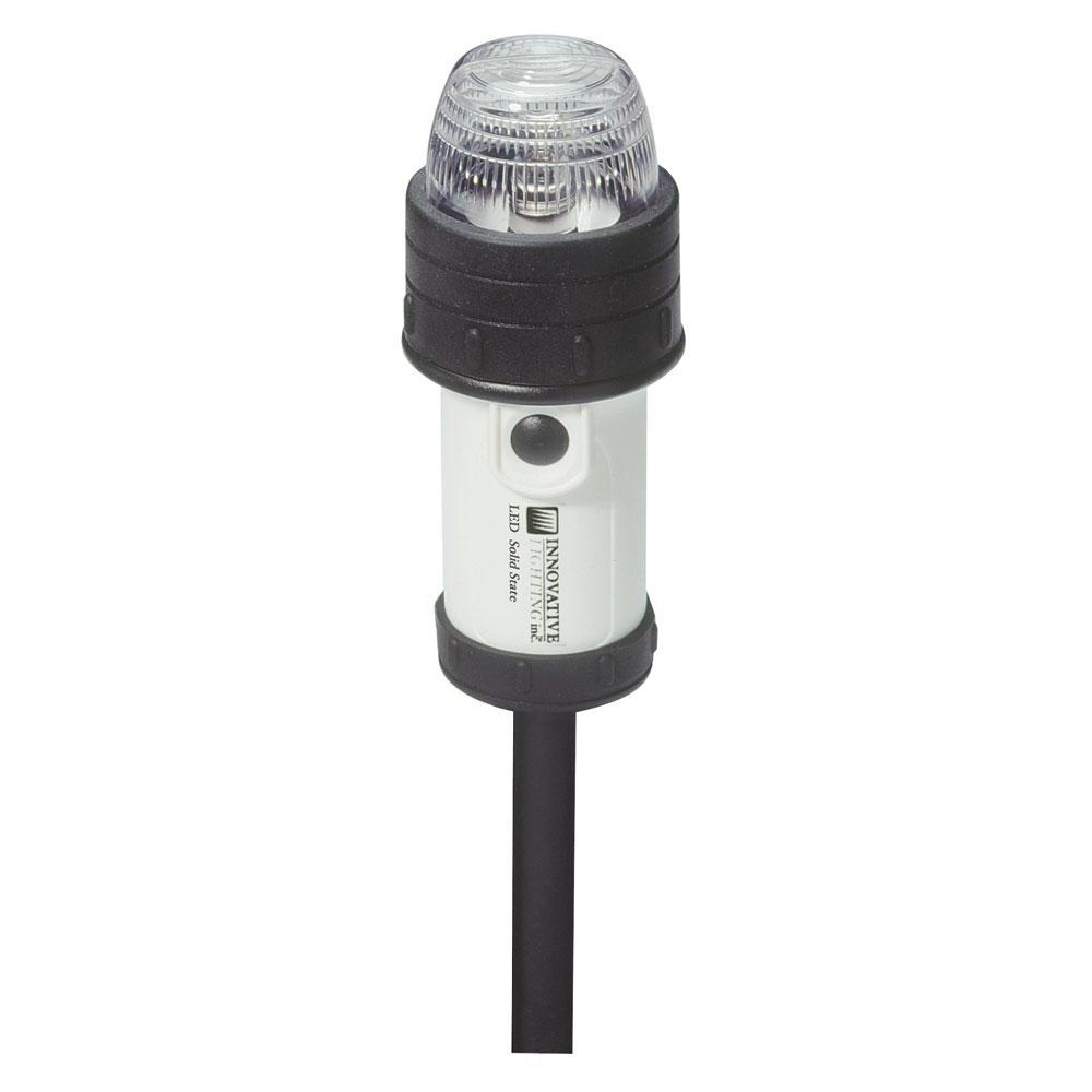 "Innovative Lighting Portable Stern Light w-18"" Pole Clamp"