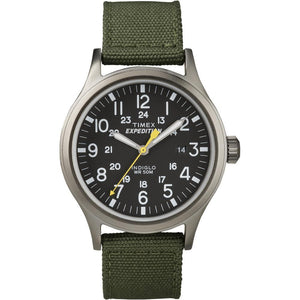 Timex Expedition Scout Metal Watch - Green-Black