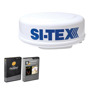 SI-TEX MDS-8R Radar Sensor Package Includes 2kW-24nm Radome Antenna, 33' Cable & P-Sea Software