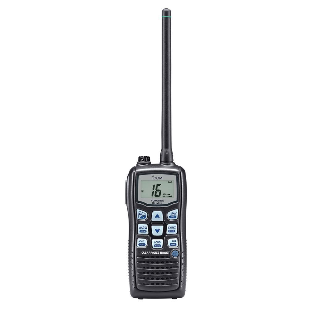 Icom M36 Floating Handheld VHF Radio - 6W
