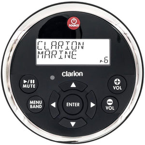 Clarion MW1 Watertight Wired Remote w-2 Line LCD