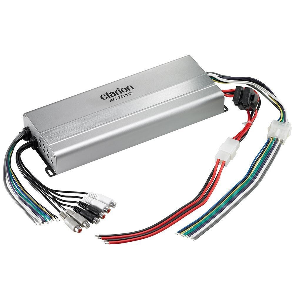 Clarion XC2510 5-Channel Class D Marine Amplifier