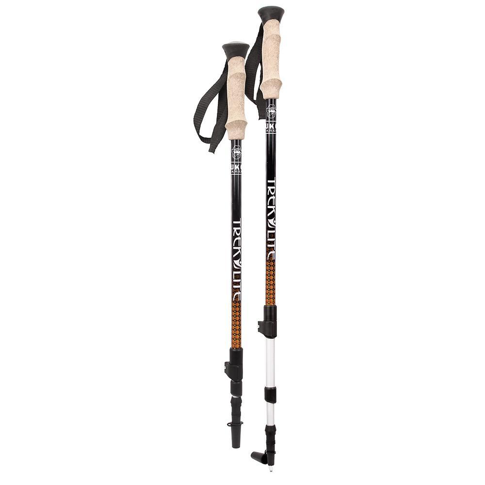 Yukon Trek Lite™ Anti-Shock Poles - Orange