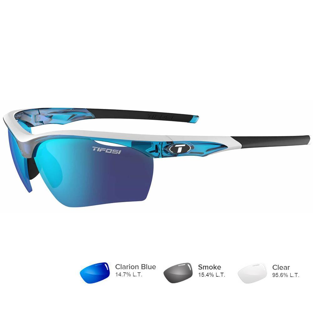 Tifosi Vero Skycloud Sunglasses - Clarion Blue-AC Red™-Clear