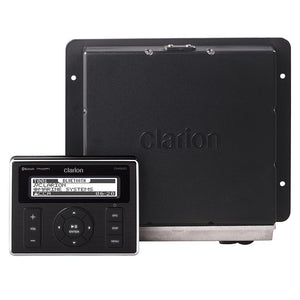 Clarion Marine Black Box Digital Media Receiver w-Watertight Commander